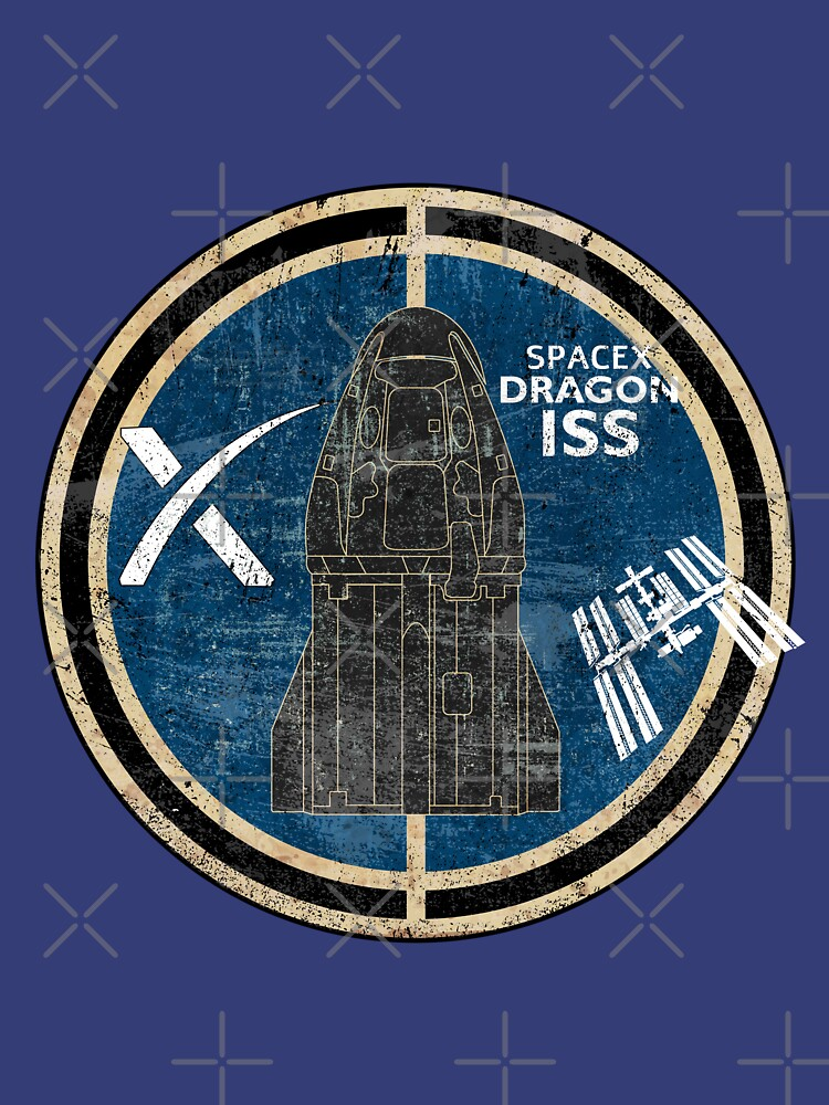 SpaceX Dragon ISS by BGALAXY