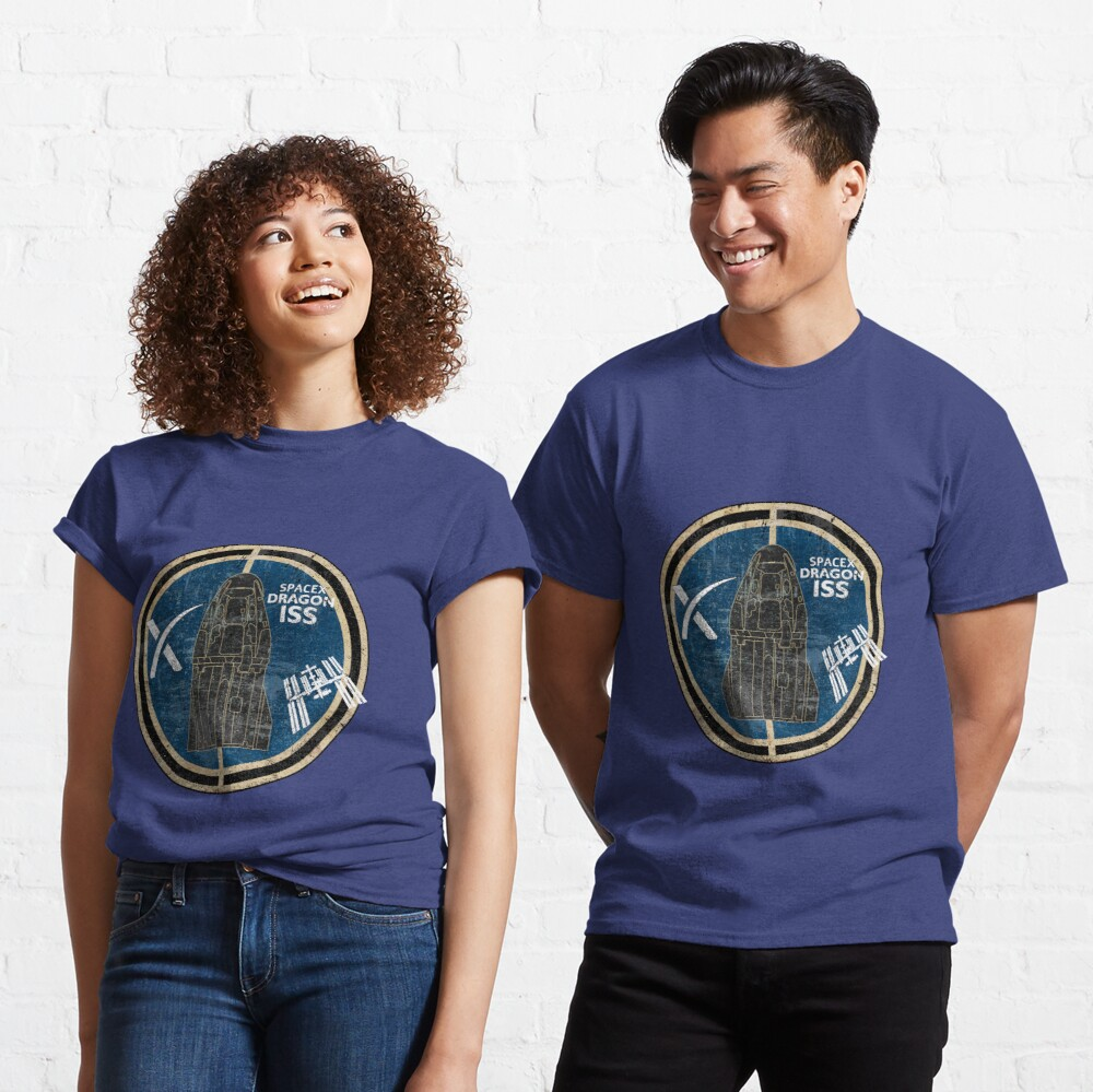 SpaceX Dragon ISS Classic T-Shirt