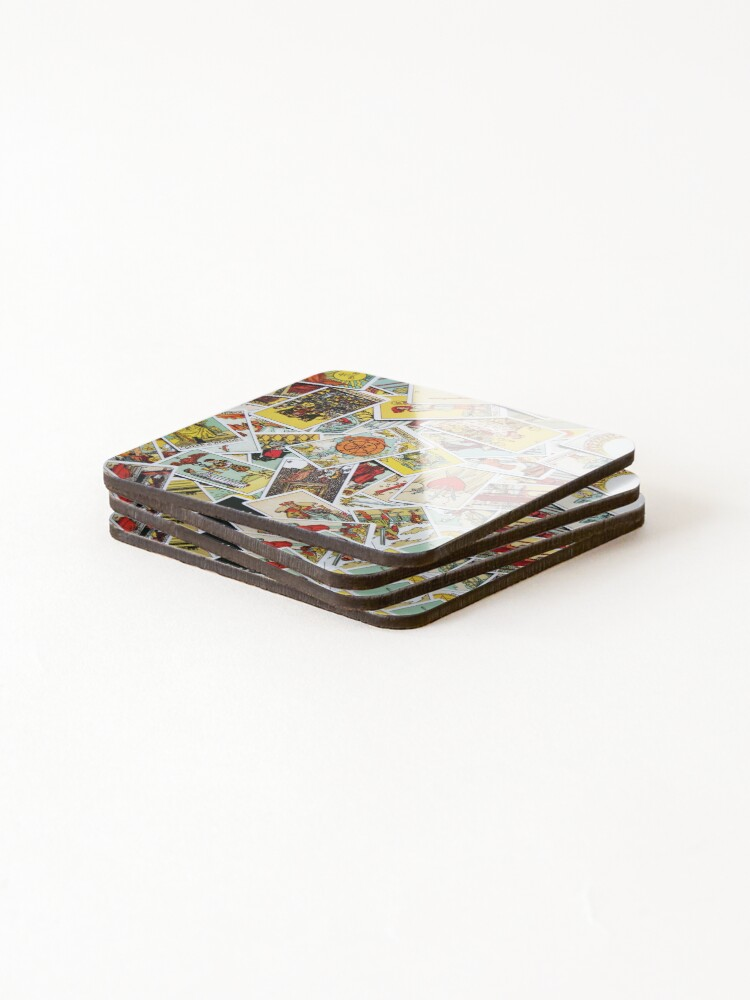 Alternate view of Tarot Card Collection Coasters (Set of 4)