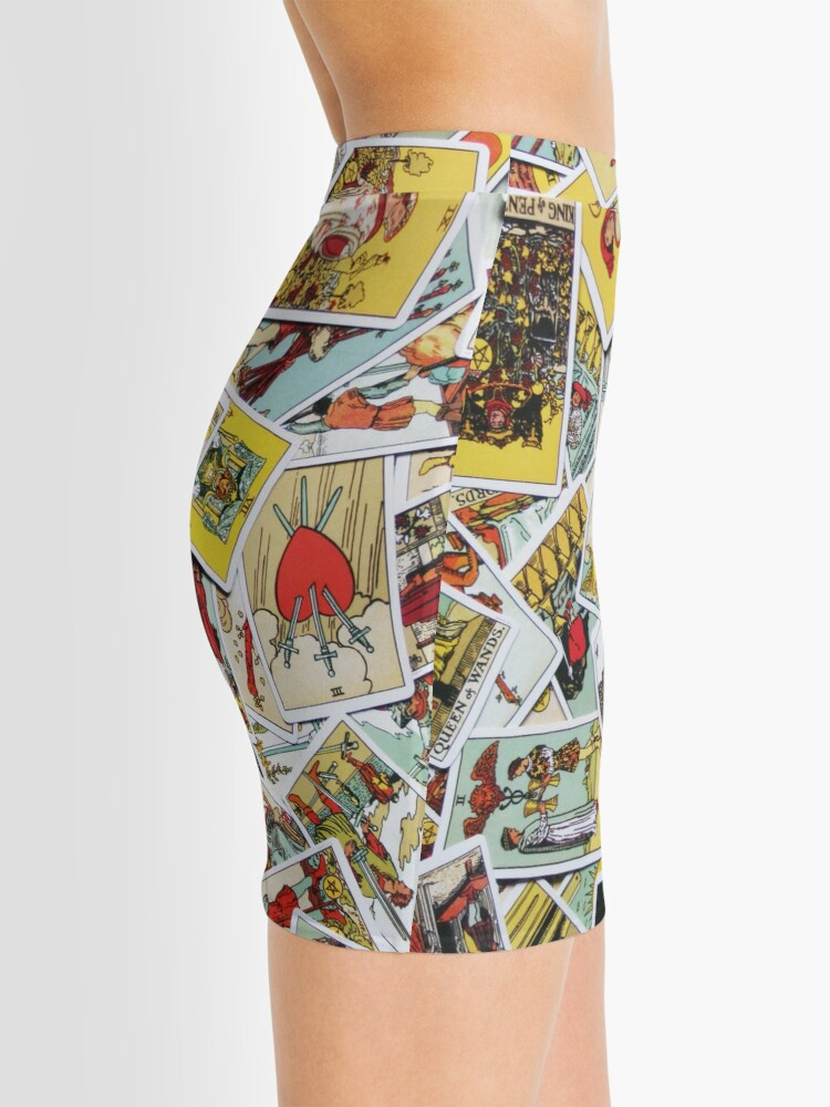 Alternate view of Tarot Card Collection Mini Skirt