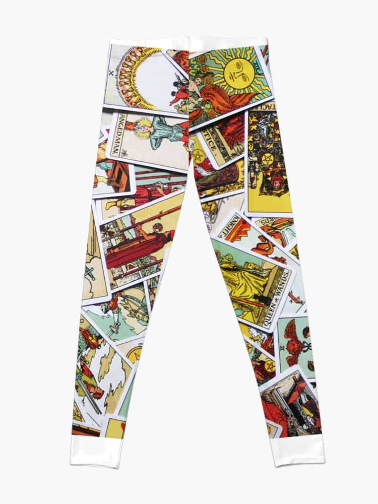 Alternate view of Tarot Card Collection Leggings