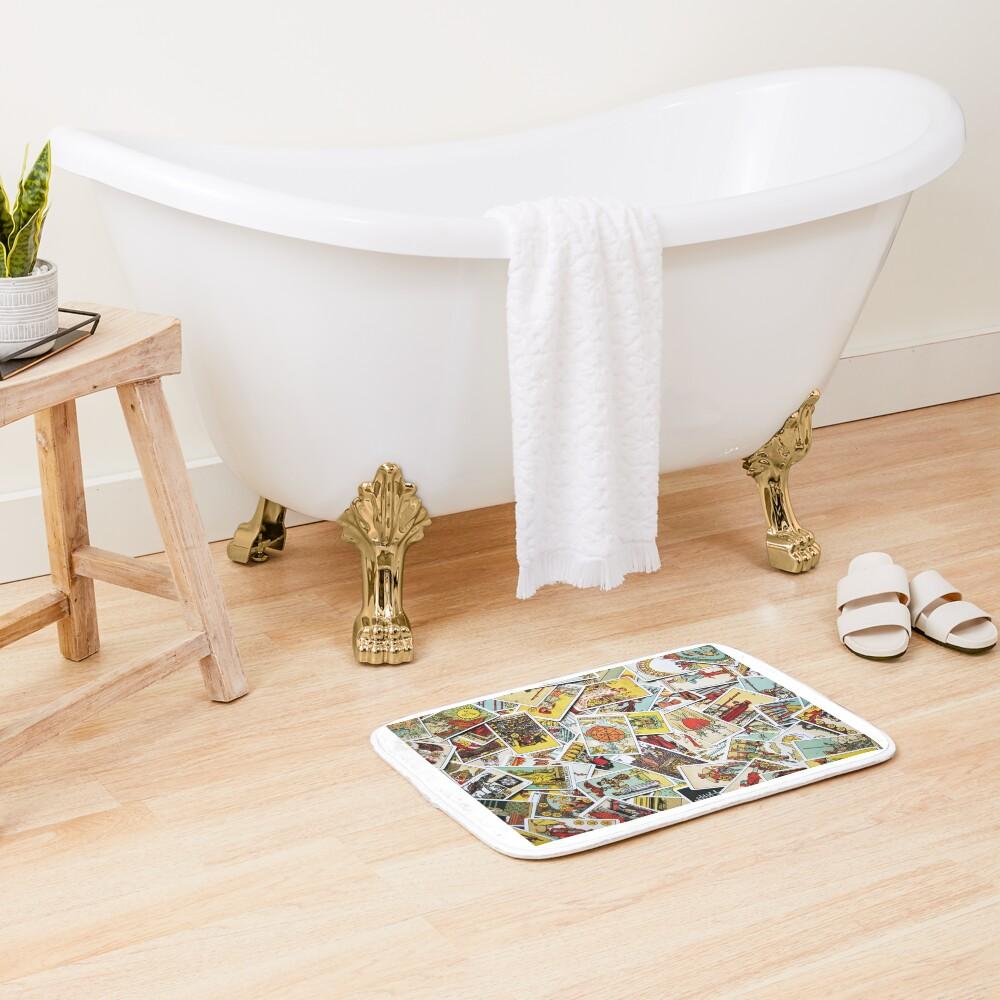Tarot Card Collection Bath Mat