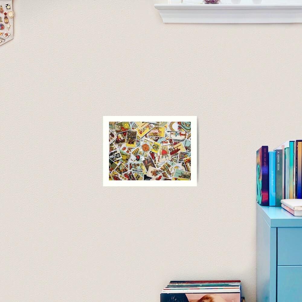 Tarot Card Collection Art Print