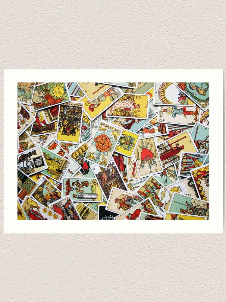Alternate view of Tarot Card Collection Art Print