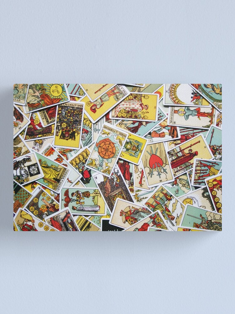 Alternate view of Tarot Card Collection Canvas Print