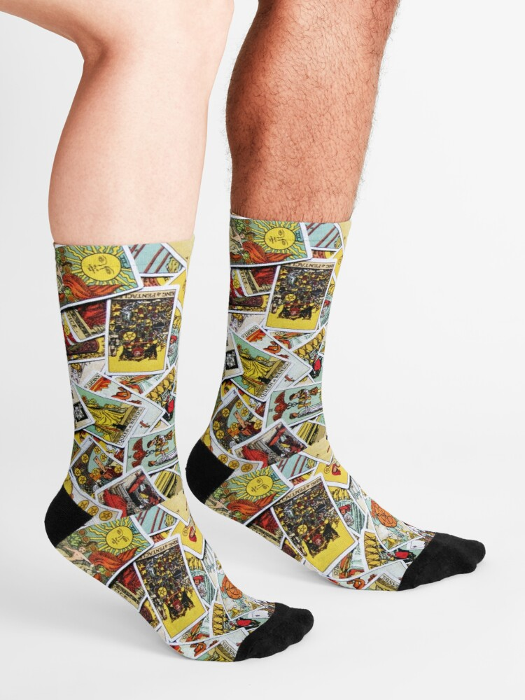 Alternate view of Tarot Card Collection Socks