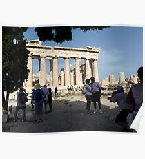 The Parthenon Temple of Athens Poster