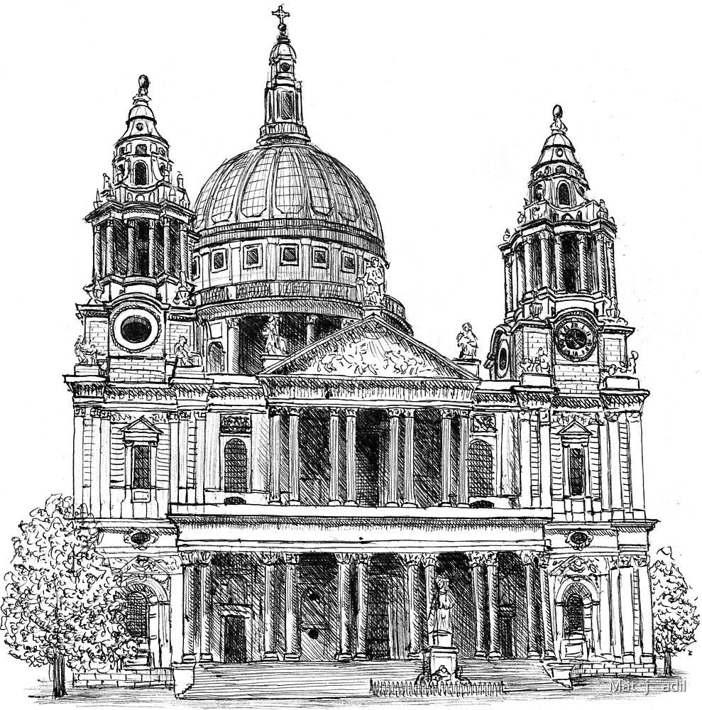 St Paul's Cathedral by Matěj Čadil