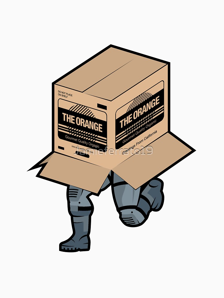 Solid Snake Sneaking in Box - Metal Gear Solid  by Jamieferrato19
