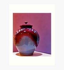Jar delight Art Print