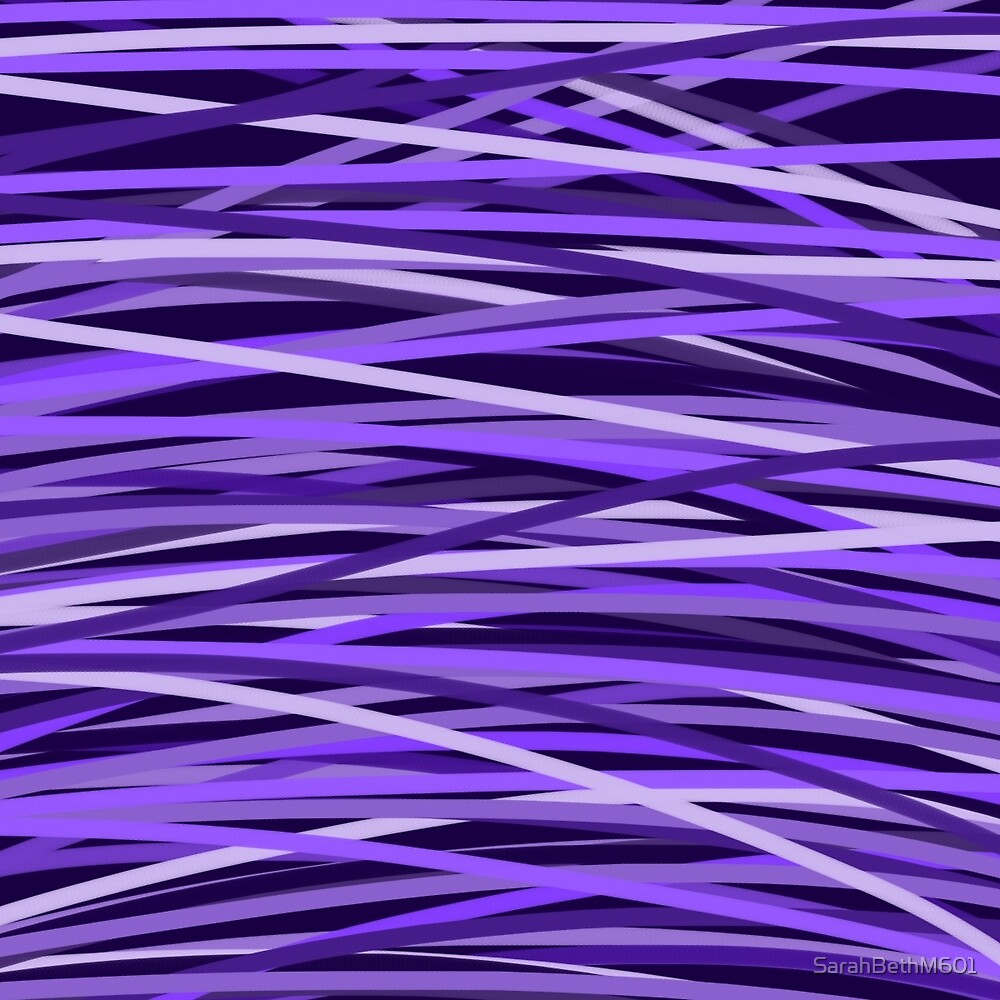 purple stripes by SarahBethM601
