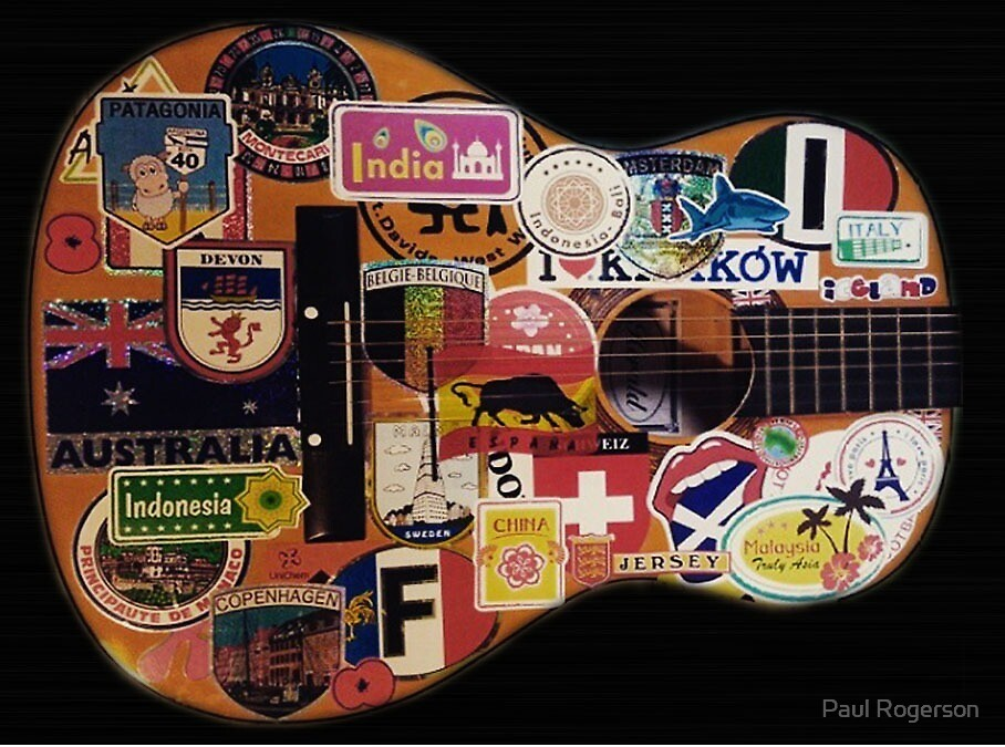 Guitar by Paul Rogerson
