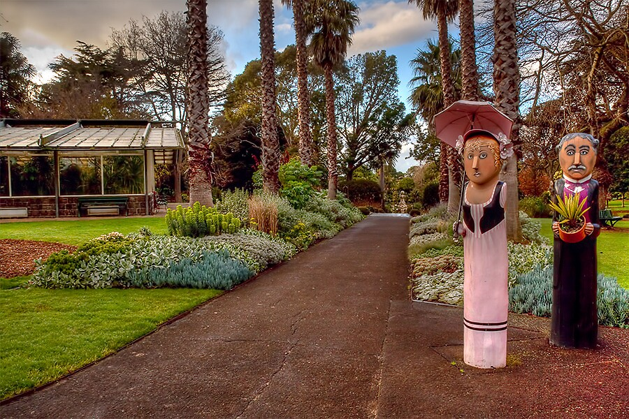 Geelong Gardens by Lynden