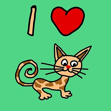I LOVE CAT 2 by swghosh
