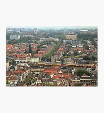 Delft rooftops Photographic Print