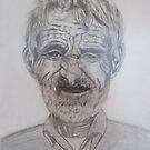 Old Mallorcan fisherman by olivia-art