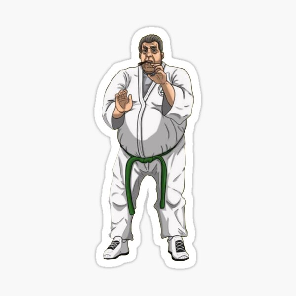 Joey Diaz as 'Joey Karate' Original Sticker