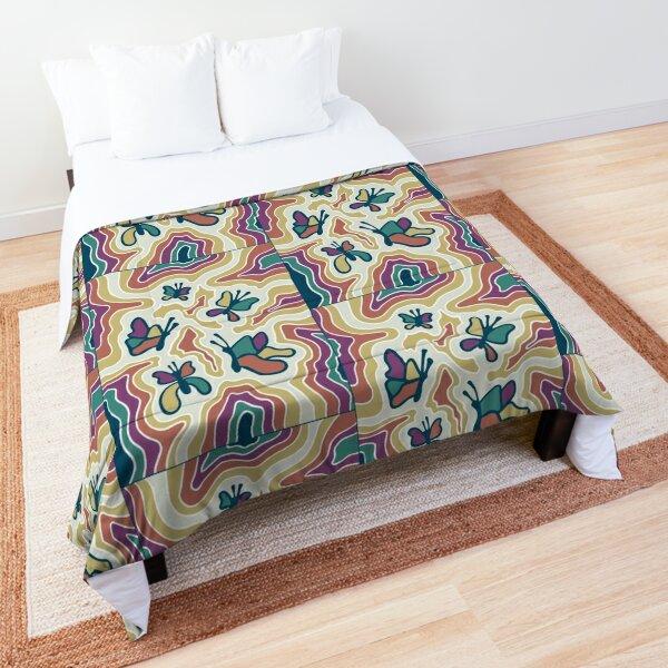 Hippie Butterflies Comforter