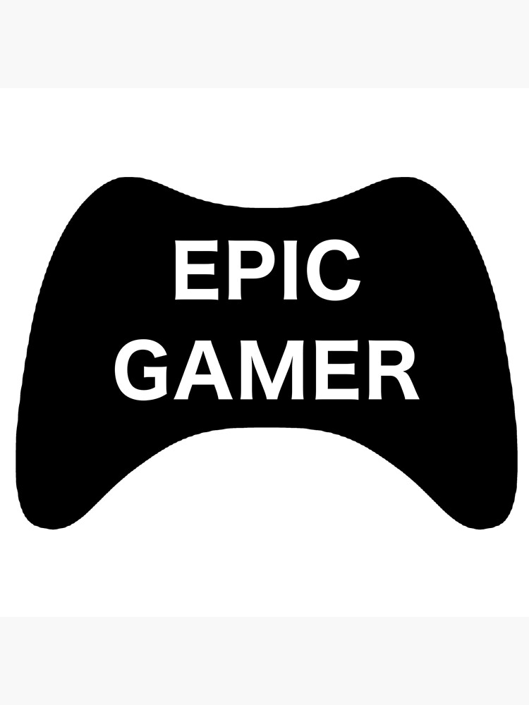 "Epic Gamer"" Art Board Print by CaiMorgan | Redbubble"
