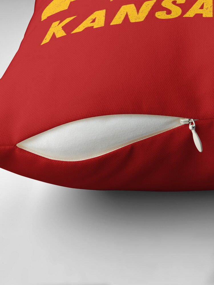 Alternate view of Kansas City Throw Pillow