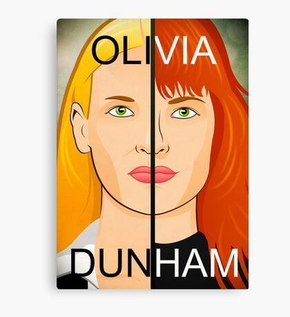 Olivia VS Fauxlivia | Fringe Canvas Print