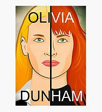 Olivia VS Fauxlivia | Fringe Photographic Print