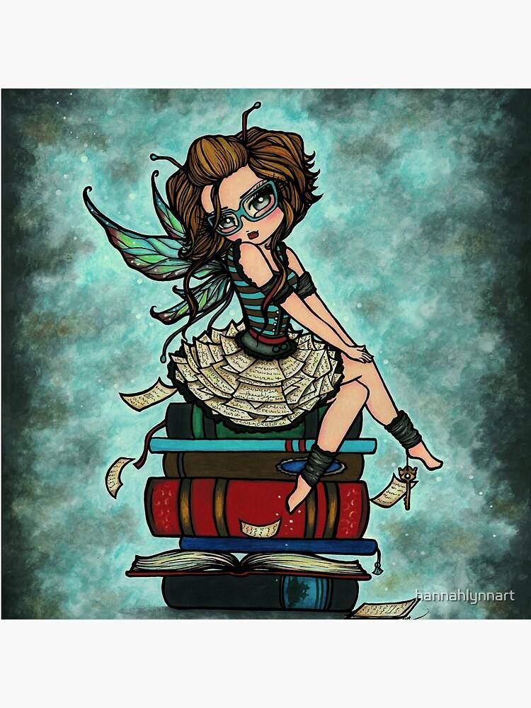 Library Fairy  by hannahlynnart