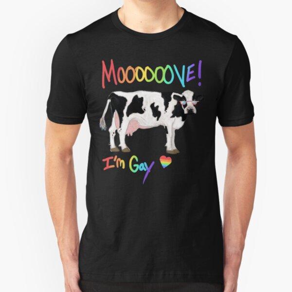 Move, I'm Gay Slim Fit T-Shirt