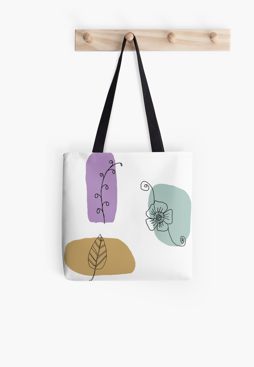Color Spots Flowers and Leaves by OpenArt