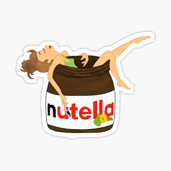 Baño Nutella Pegatina