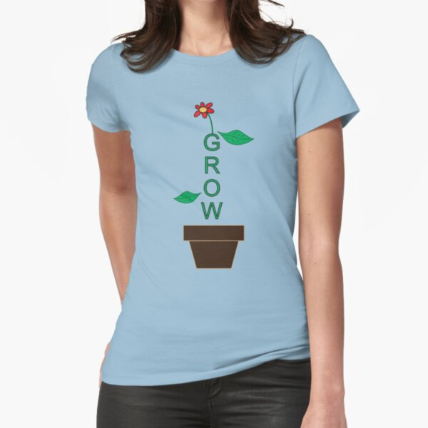 Grow Fitted T-Shirt
