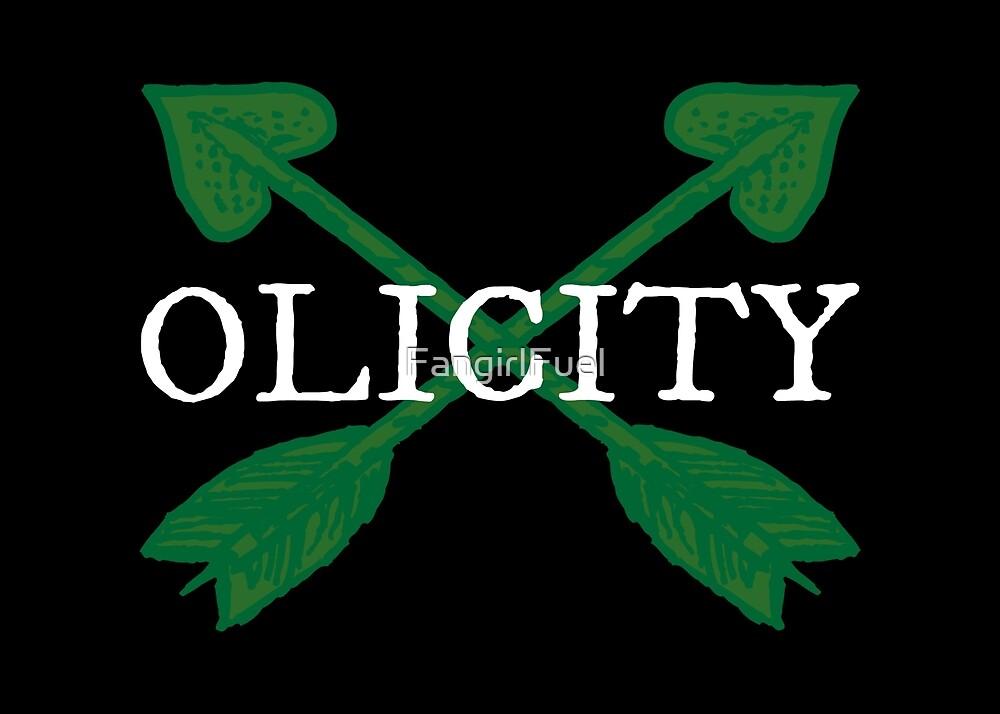 Olicity - Crossing Green Heart Arrows by FangirlFuel