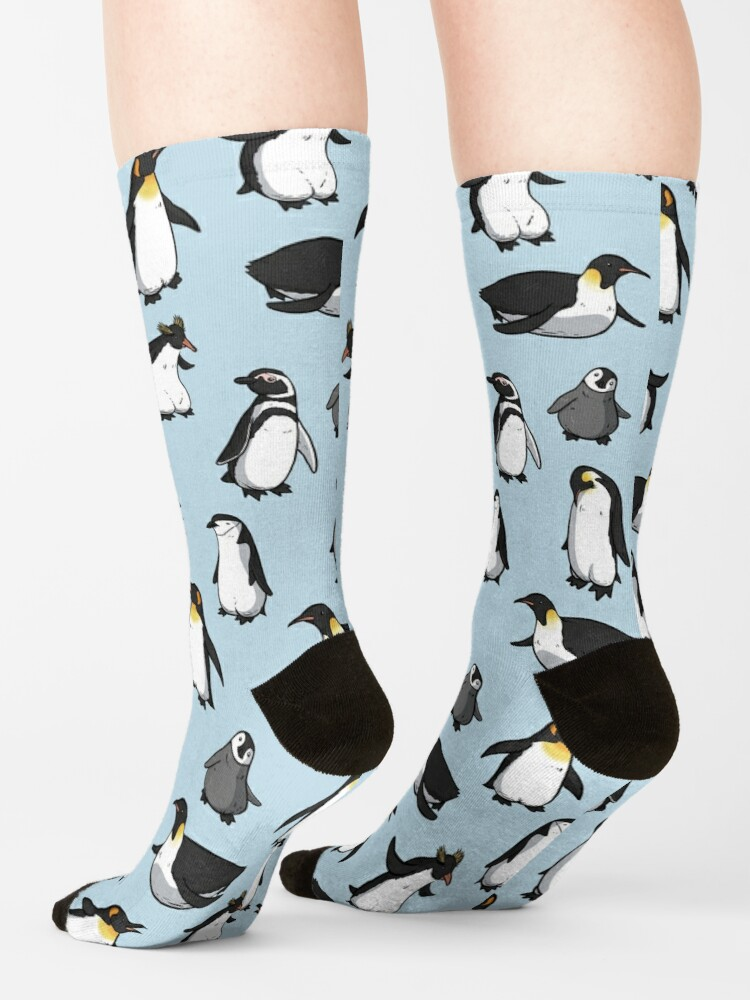 Alternate view of Cute Penguin Pattern Socks