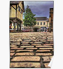 Cobbled Street Poster