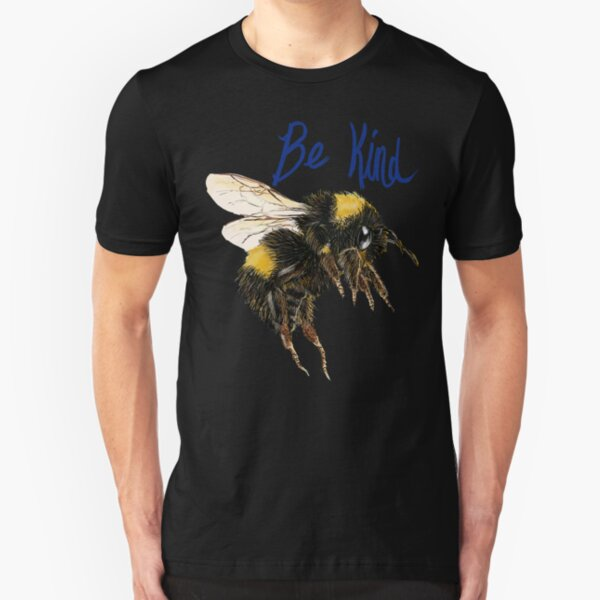 Be Kind Bee Slim Fit T-Shirt