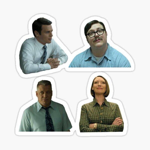 Mindhunter Foursome (Sticker Pack!) Sticker