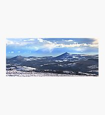 Panorama - Wicklow Mountain Photographic Print