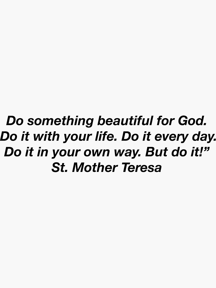 """do something beautiful"" sticker by Brookearmis"