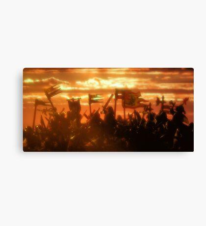 Kingdom of Sunset Canvas Print