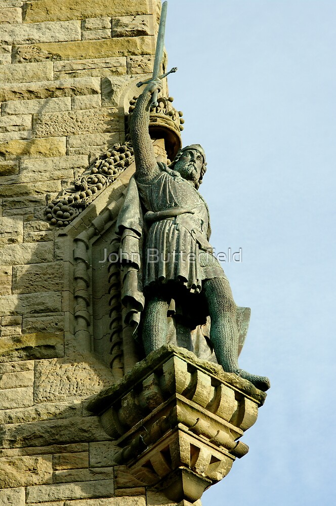 William wallace statue at the wallace monument stirling for Decor 9 stirling
