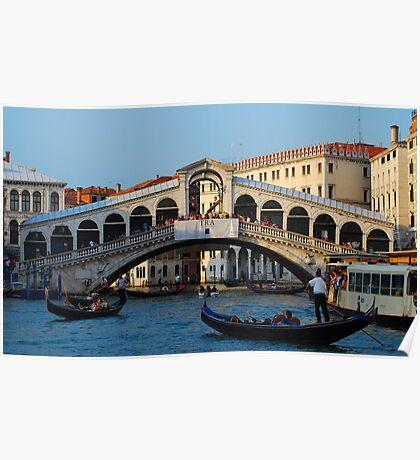 Rialto, Venice Poster