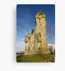 The Wallace Monument Stirling Scotland Canvas Print