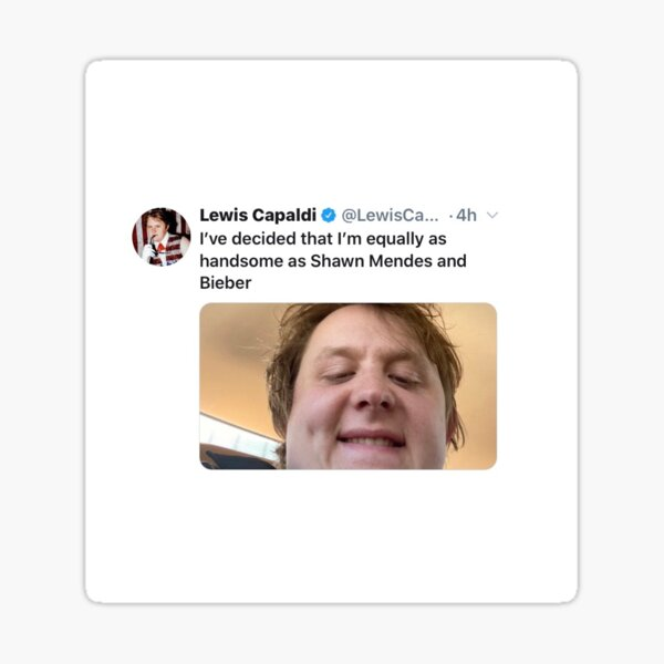 Lewis Capaldi  Sticker