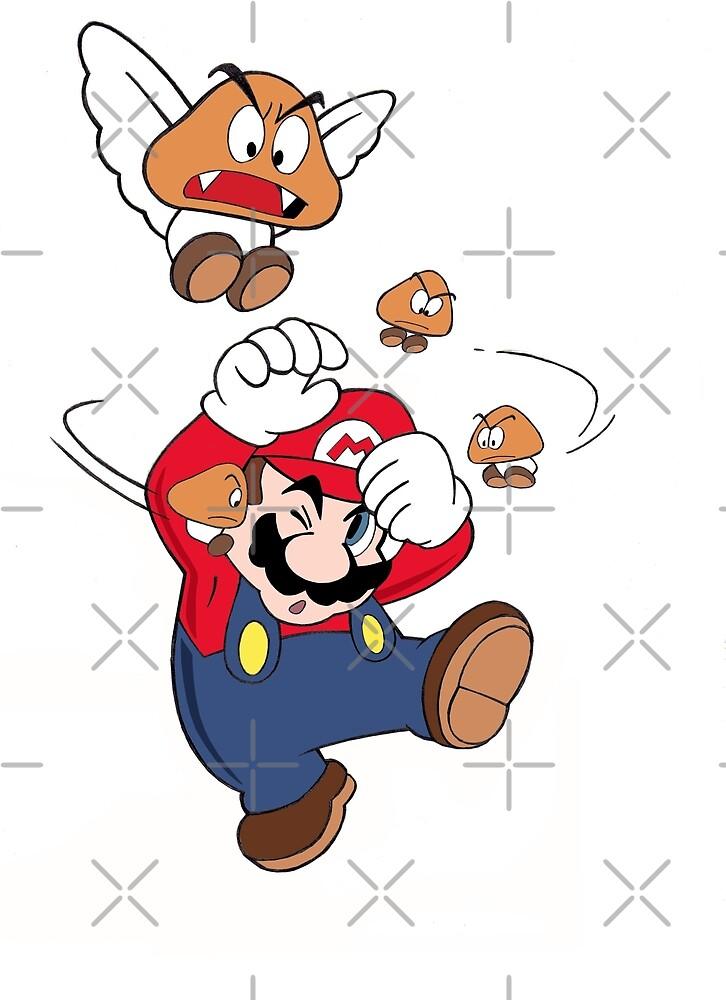 Super Mario Bros by adrien72140