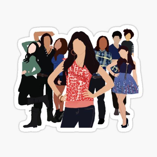 Victorious Cast sticker Sticker