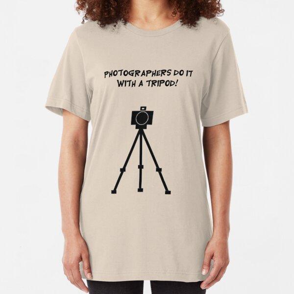 Photographers Do It Slim Fit T-Shirt