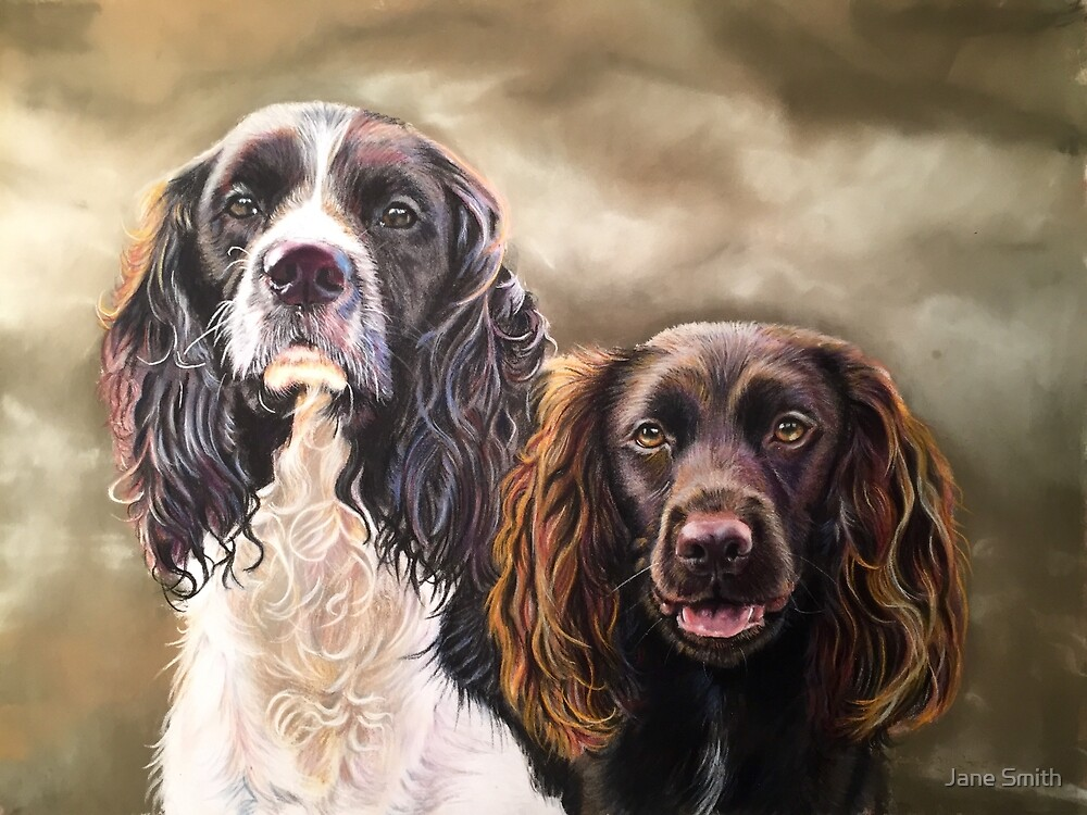 Wells Spaniels by Jane Smith