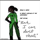 Definition of a Hero - Natasha, from Becoming Hero by petrepan