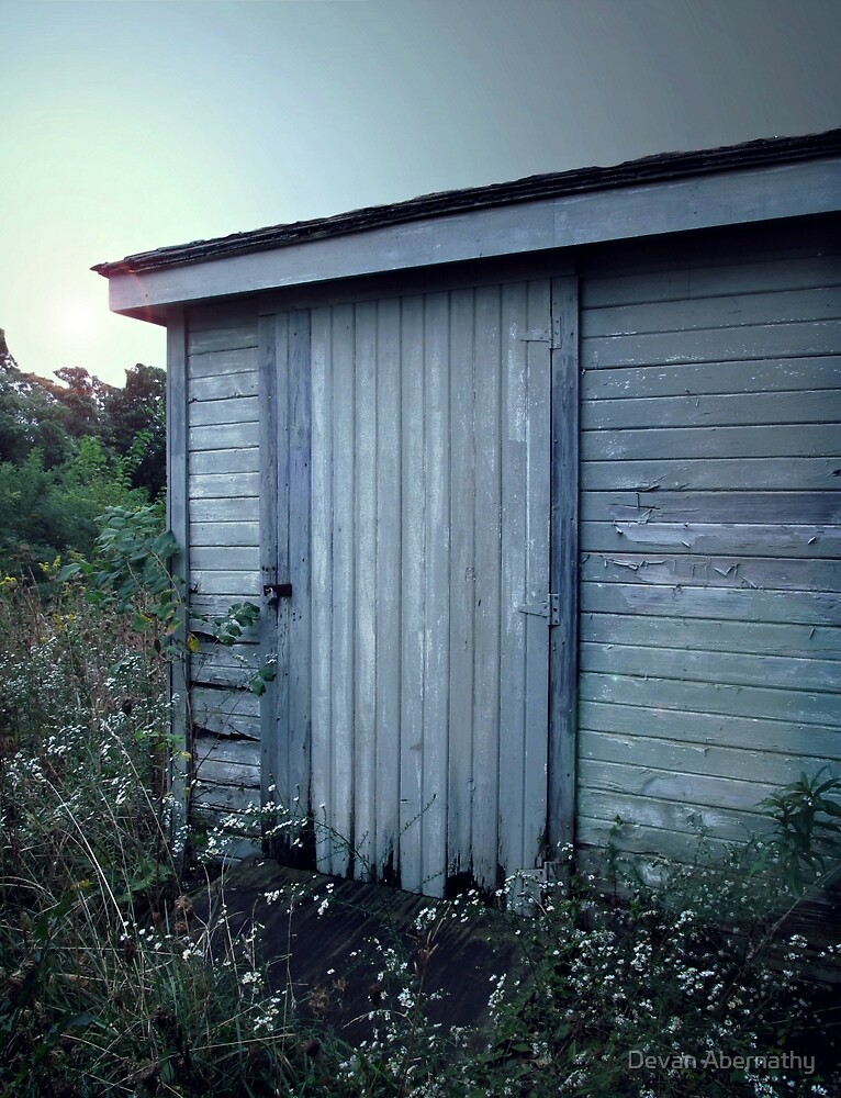 The Shed Beyond the Hill by Devan Abernathy