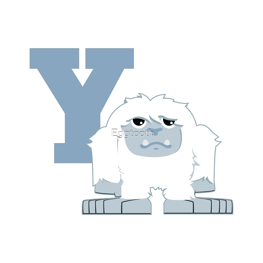 Y is for Yeti by Eggtooth
